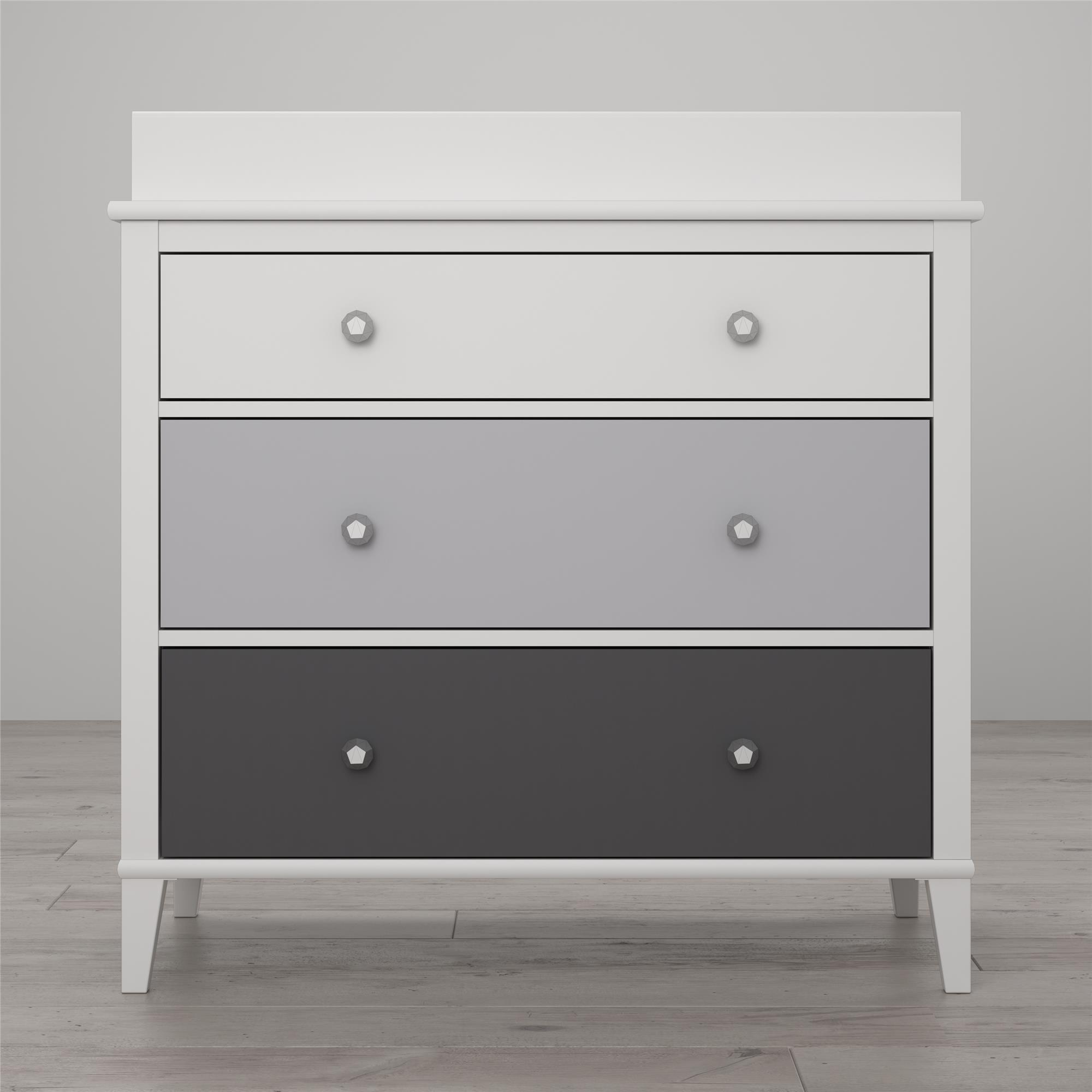 Monarch Hill Poppy 3 Drawer Changing Table Gray Little
