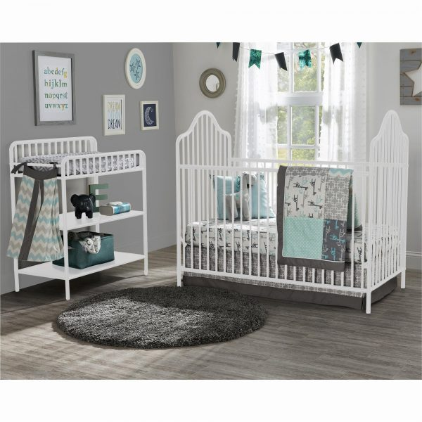 Crib & Changer Table Set | Perfect For Any Nursery