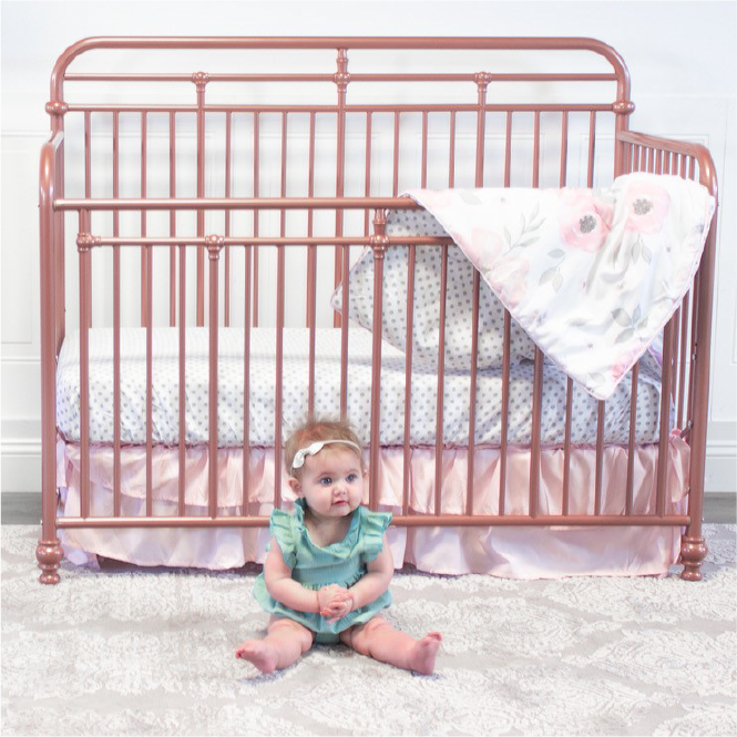 Little Seeds | Rose Gold Crib